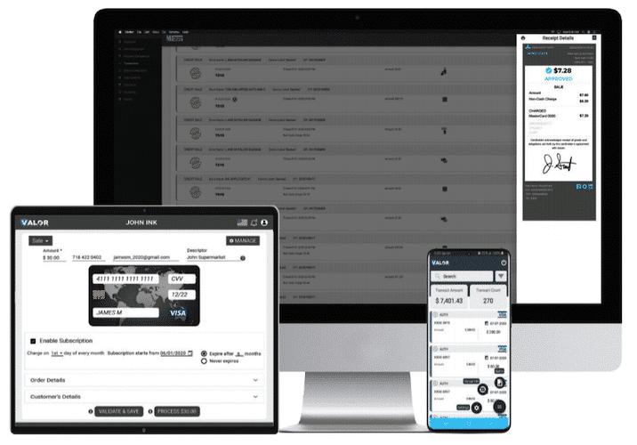 Gateway, VT, Merch Portal (2) JaimePOS A leading POS Provider
