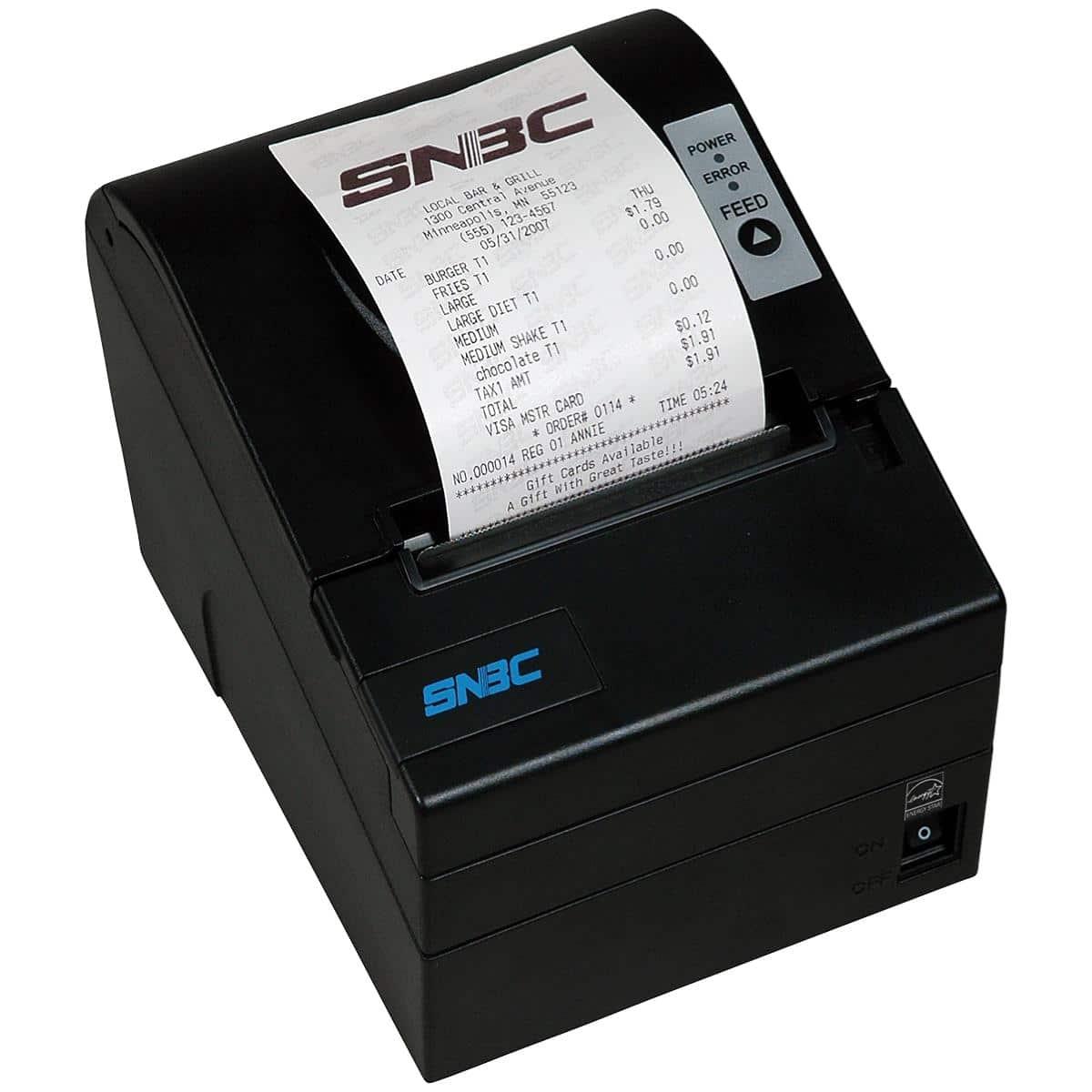 SNBC Printer BTP-R880NPV Black USB+Serial+Ethernet