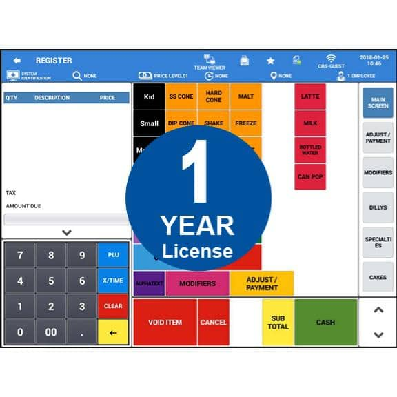 Sam4POS Android Software - 1 Year License