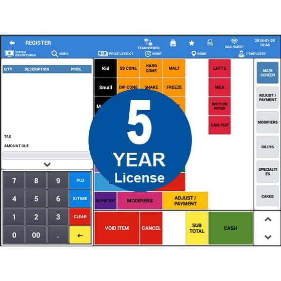 Sam4POS Android Software - 5 Year License